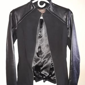Daniel Leather Fitted Jacket